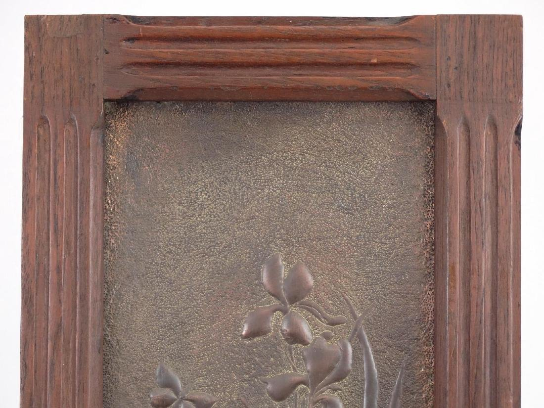 Framed Arts & Crafts Period Panel - 2