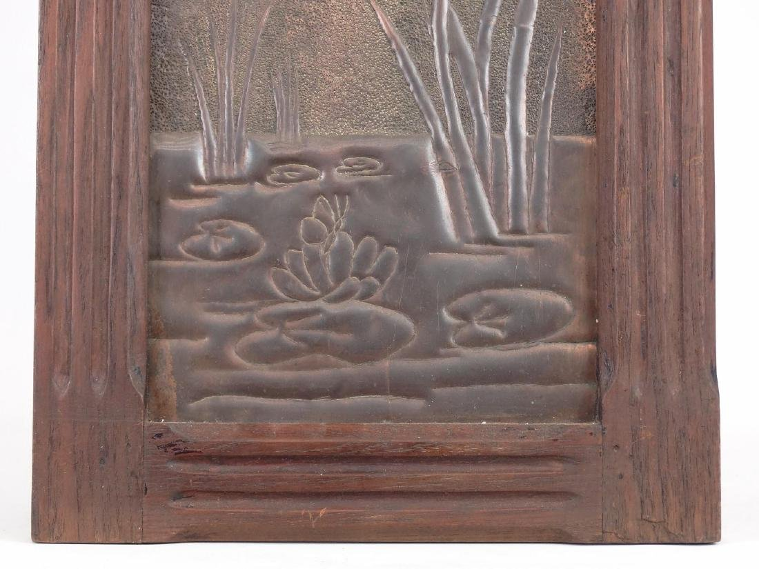 Framed Arts & Crafts Period Panel - 3