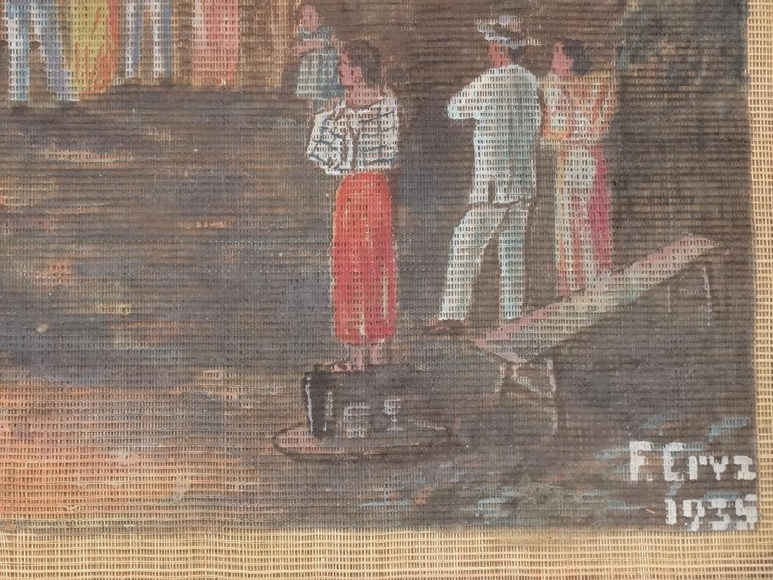 "F. Ervz ""Merrymaking in the barrio"" - 3"