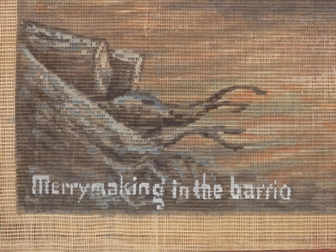 "F. Ervz ""Merrymaking in the barrio"" - 4"