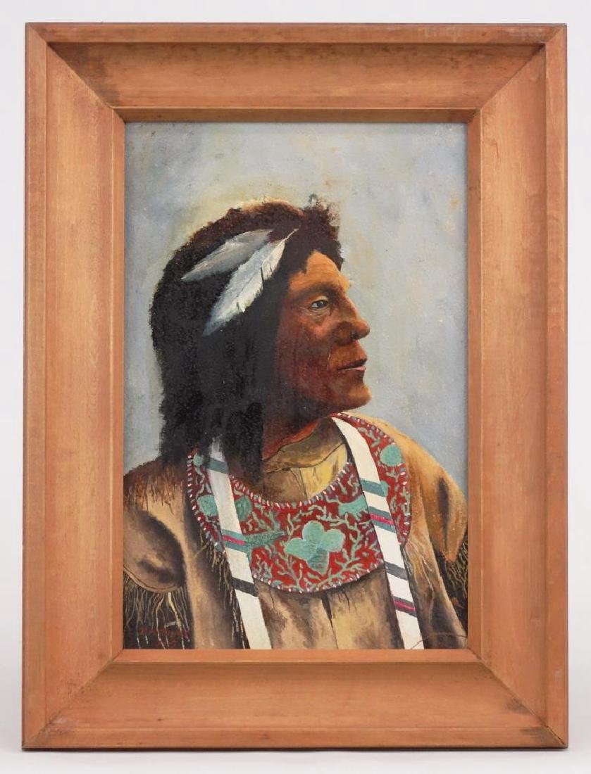 P. H. Timms, American Indian