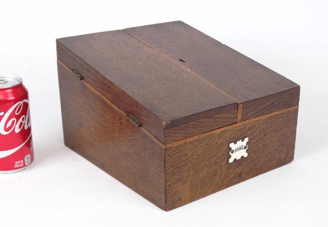 Oak Letter Box