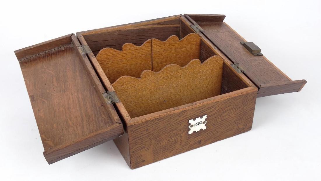 Oak Letter Box - 2