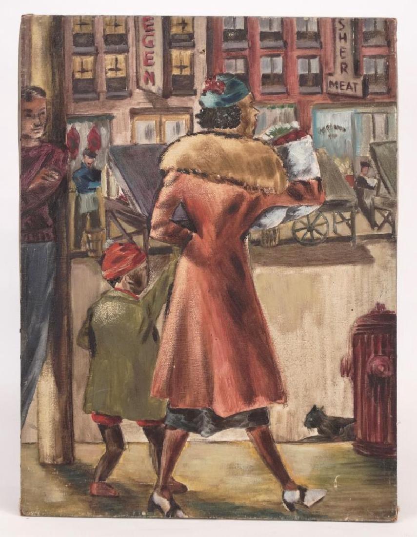 American School, Street Scene