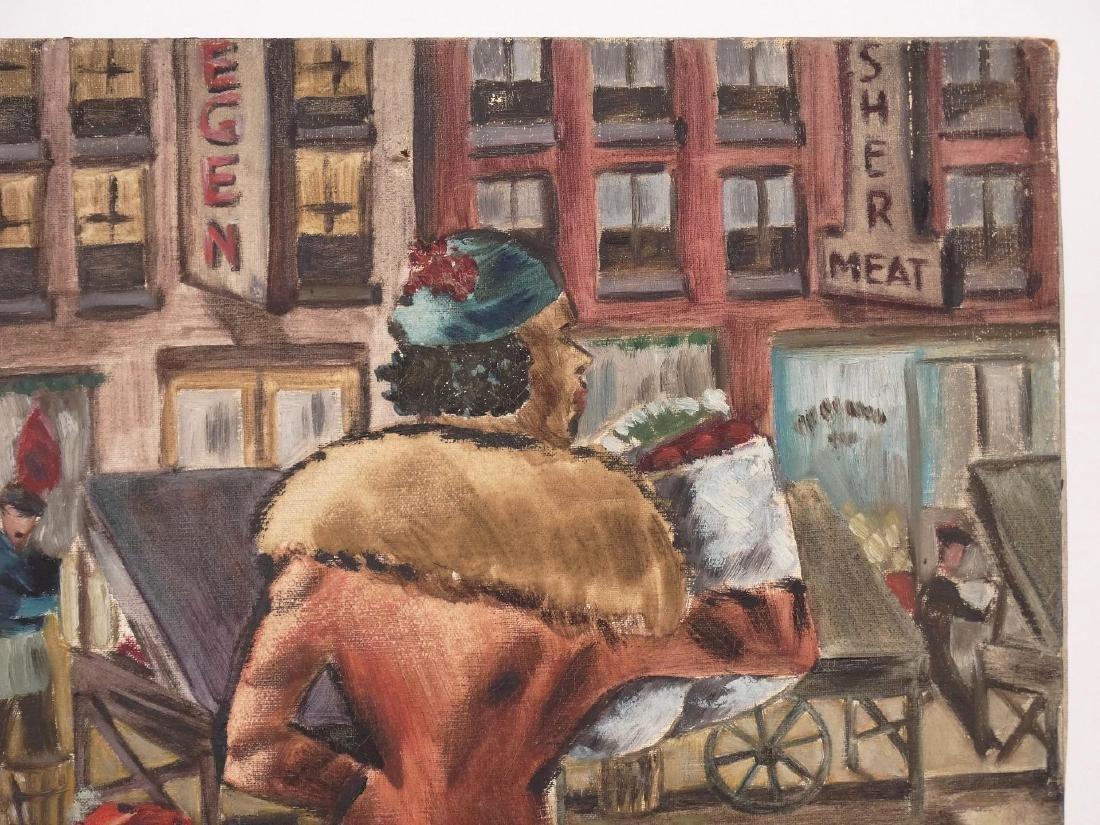 American School, Street Scene - 2