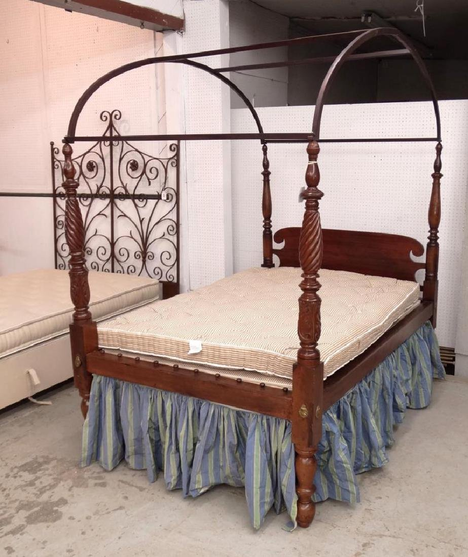 19th c. Tester Bed