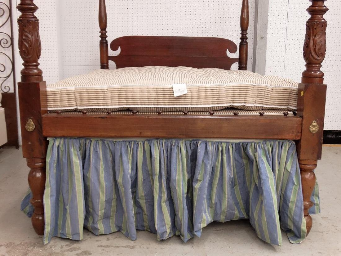 19th c. Tester Bed - 4