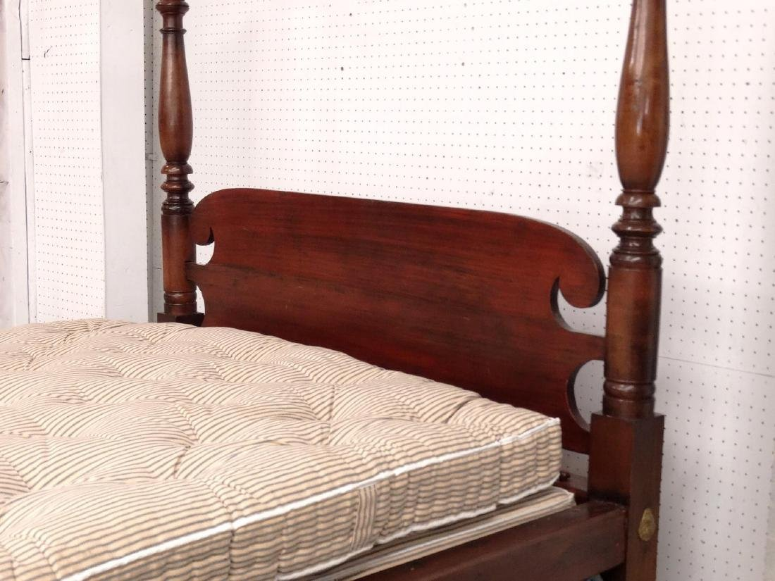 19th c. Tester Bed - 5