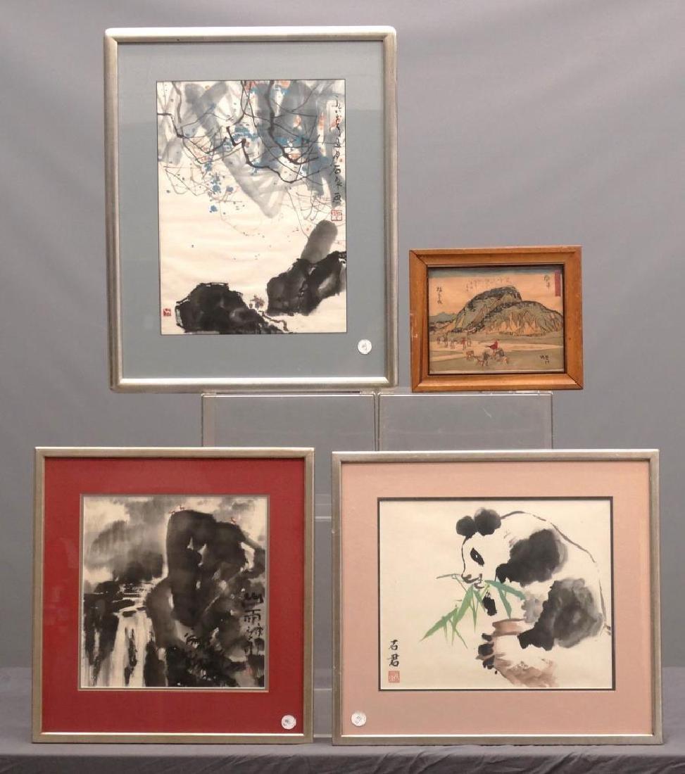 Asian Artwork Lot