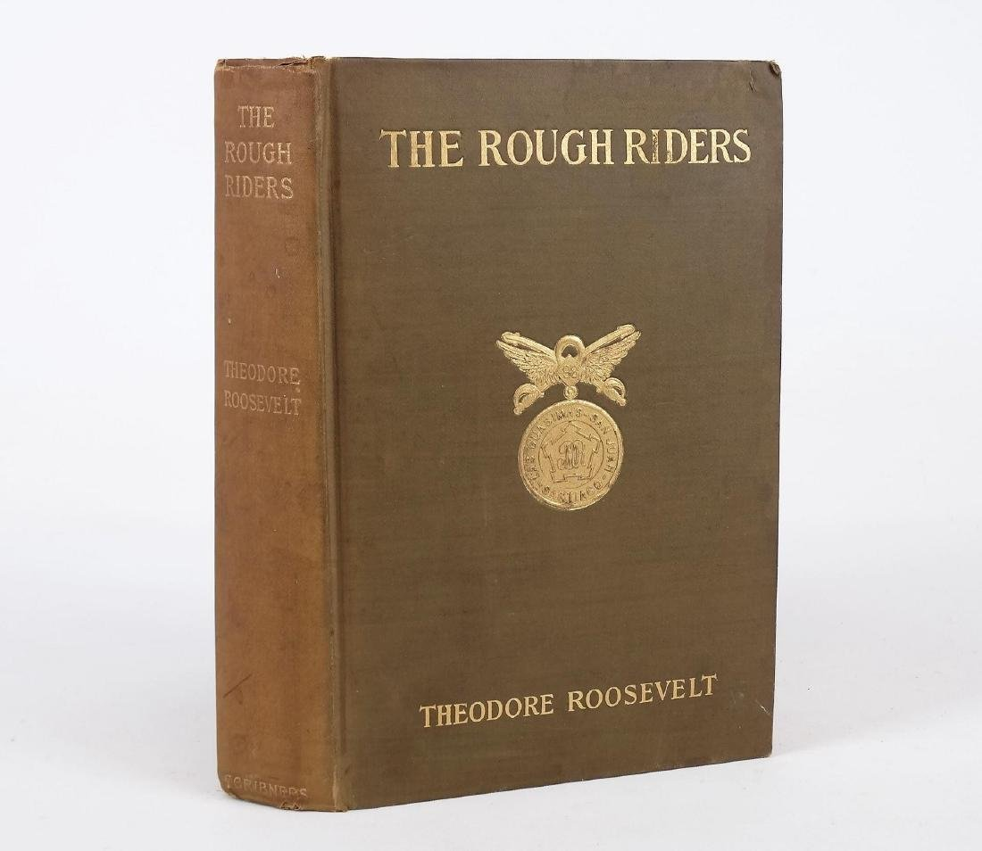"""Book: """"THE ROUGH RIDERS"""" (THEODORE ROOSEVELT)"""