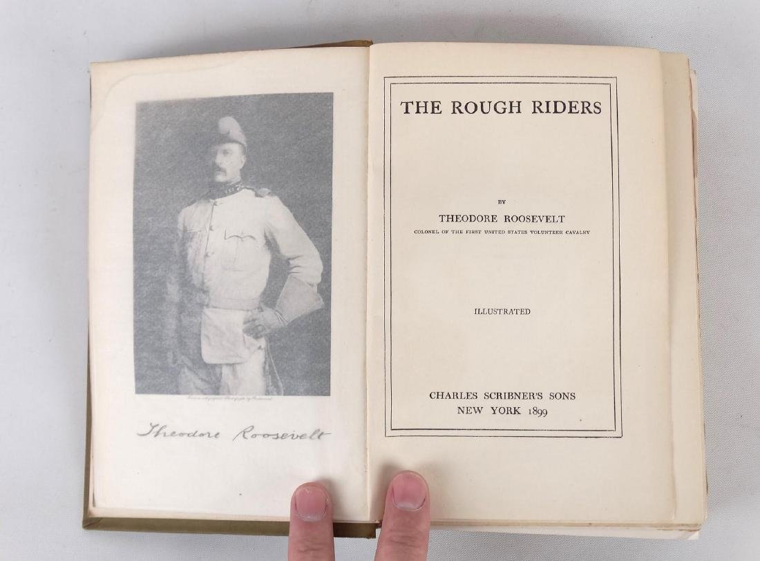 """Book: """"THE ROUGH RIDERS"""" (THEODORE ROOSEVELT) - 2"""