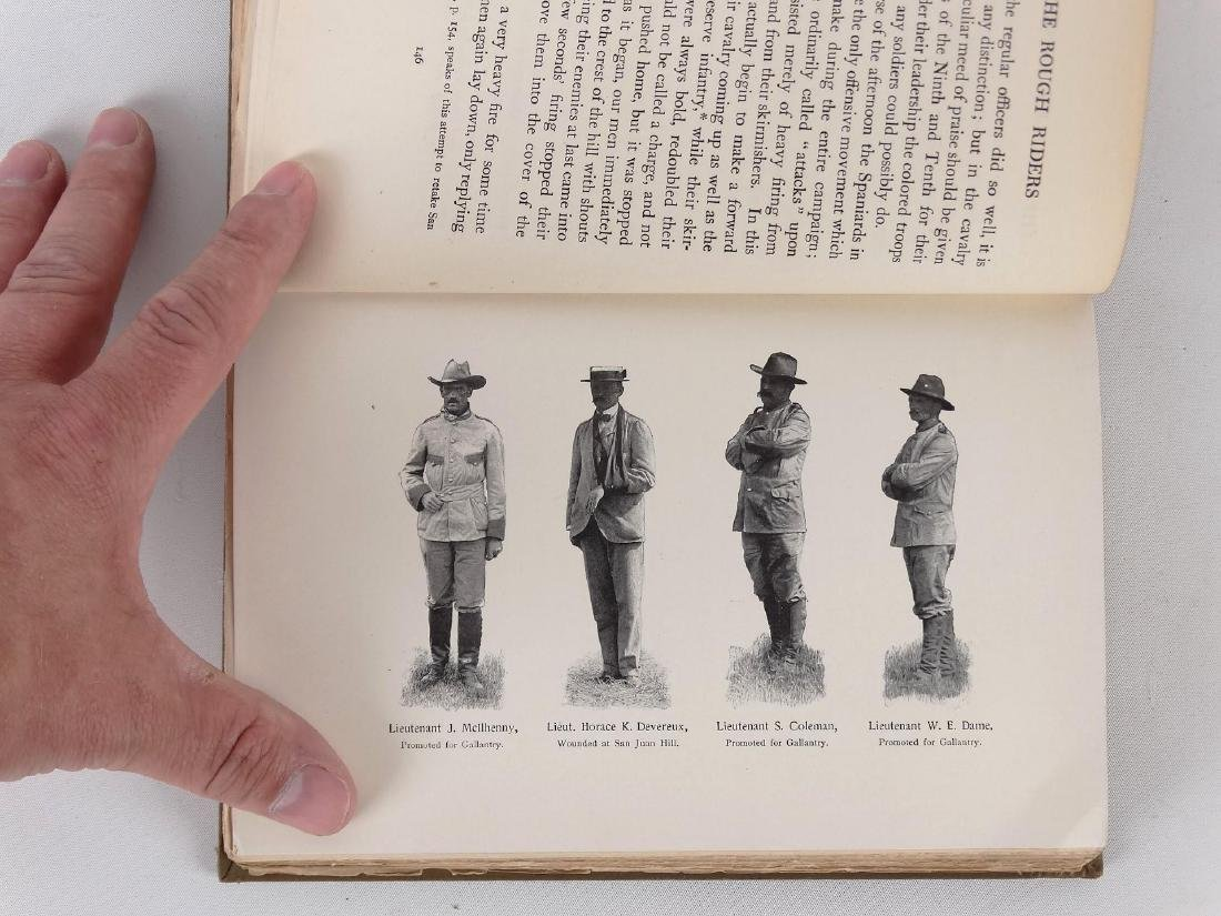"""Book: """"THE ROUGH RIDERS"""" (THEODORE ROOSEVELT) - 6"""