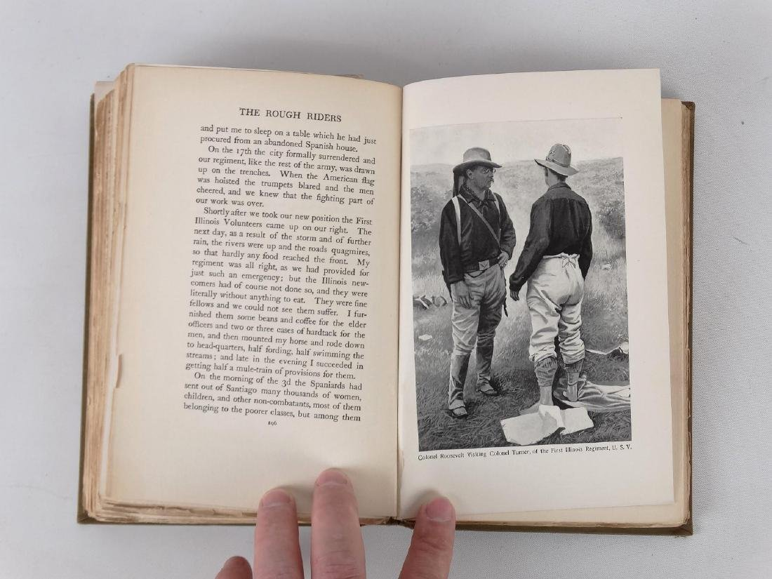 """Book: """"THE ROUGH RIDERS"""" (THEODORE ROOSEVELT) - 7"""