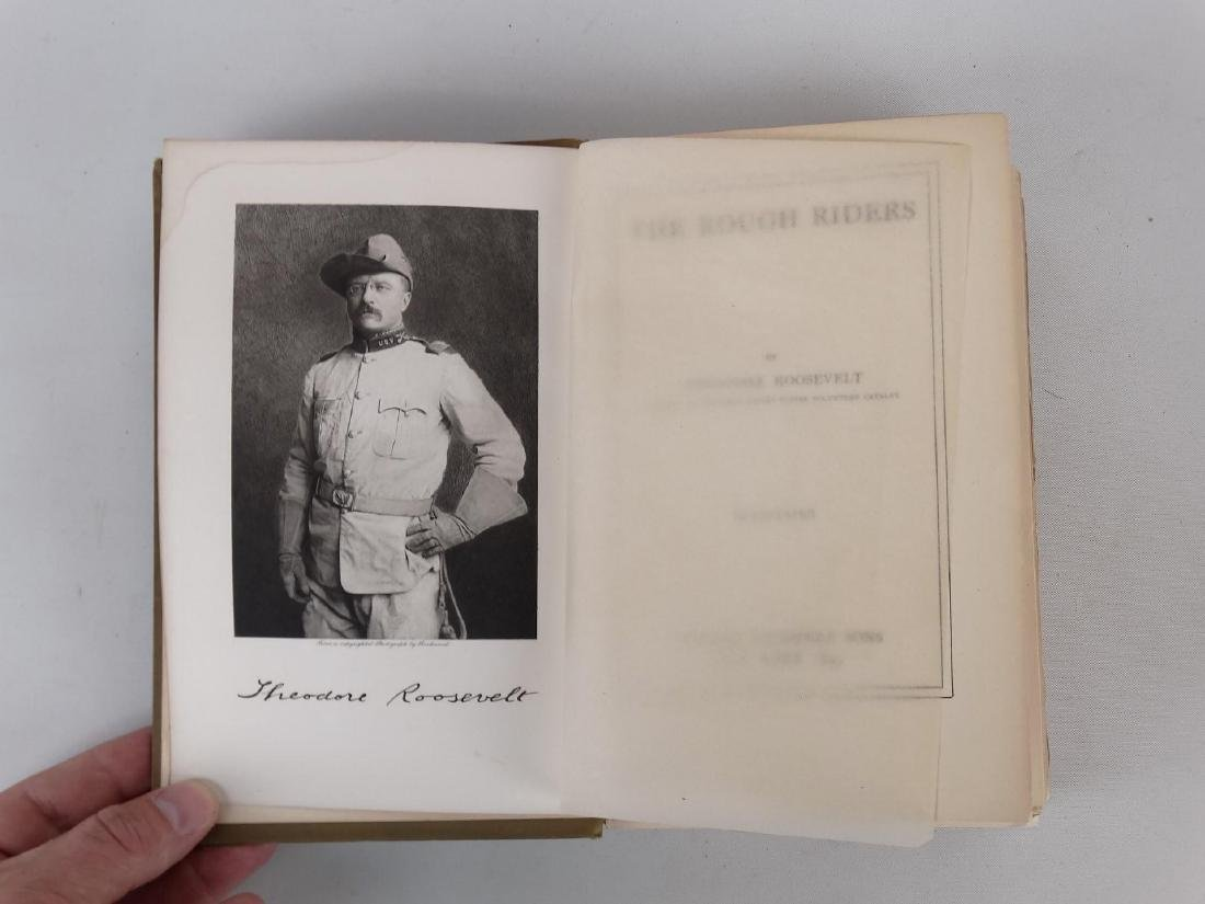 """Book: """"THE ROUGH RIDERS"""" (THEODORE ROOSEVELT) - 8"""