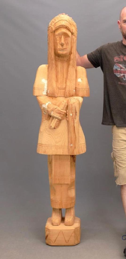 Cigar Store Figure