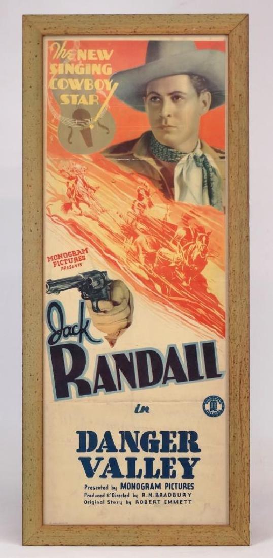 Vintage Cowboy Movie Poster