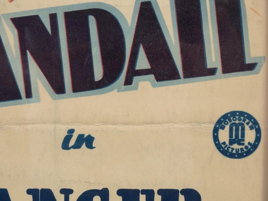 Vintage Cowboy Movie Poster - 3