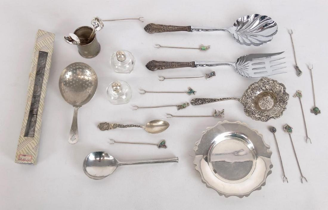 Silverplate & Sterling Lot