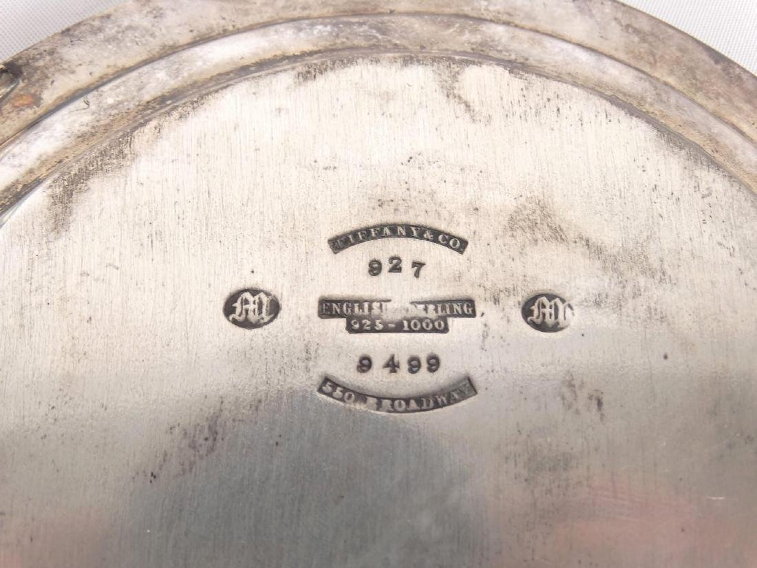 Tiffany English Sterling Footed Dish - 3