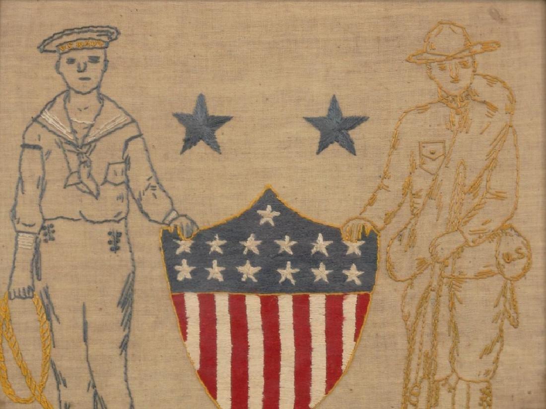 Patriotic Needlework - 2