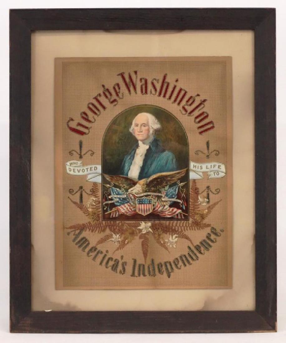 Patriotic Needlework