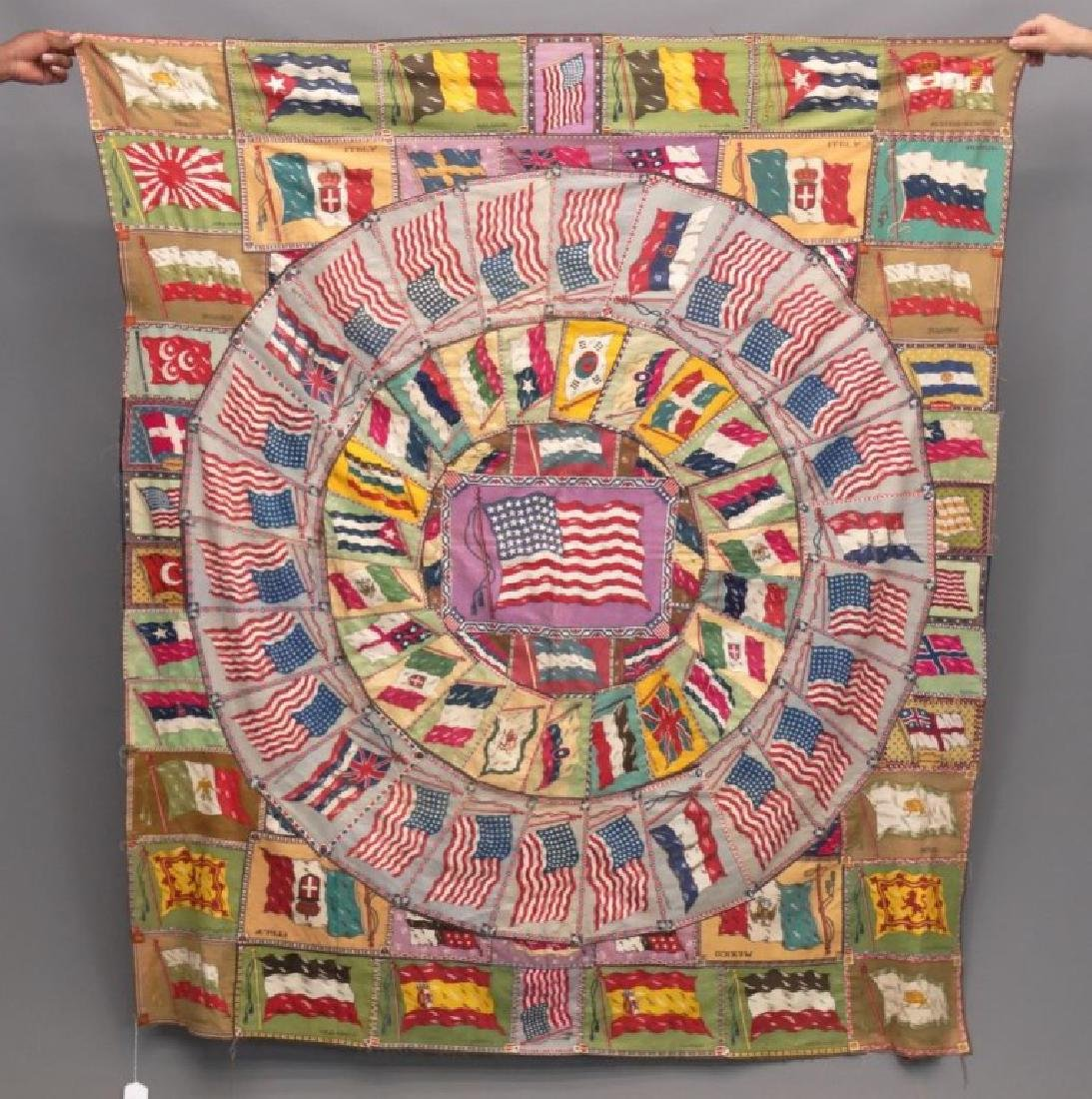 Tobacco Flags Quilt