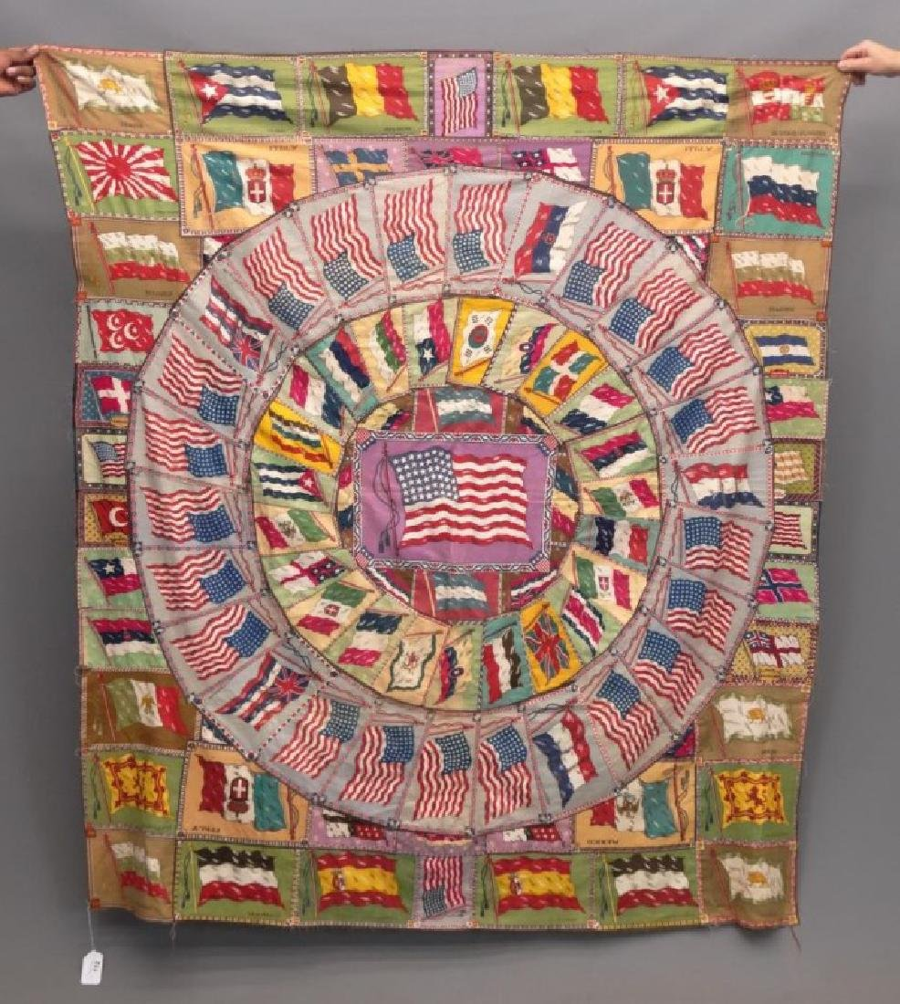 Tobacco Flags Quilt - 2
