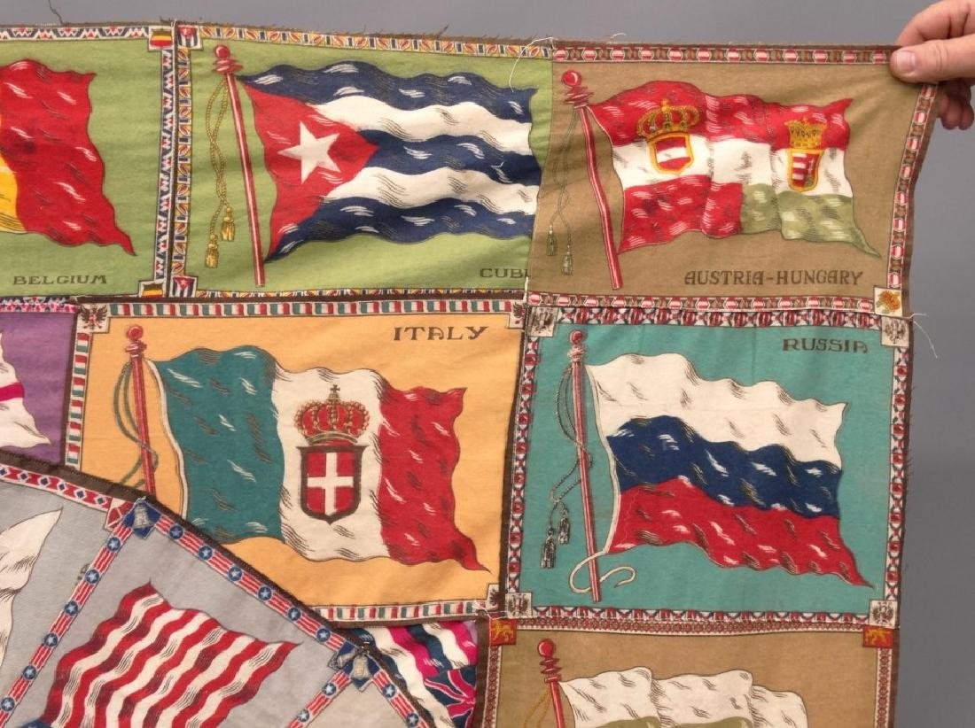 Tobacco Flags Quilt - 3