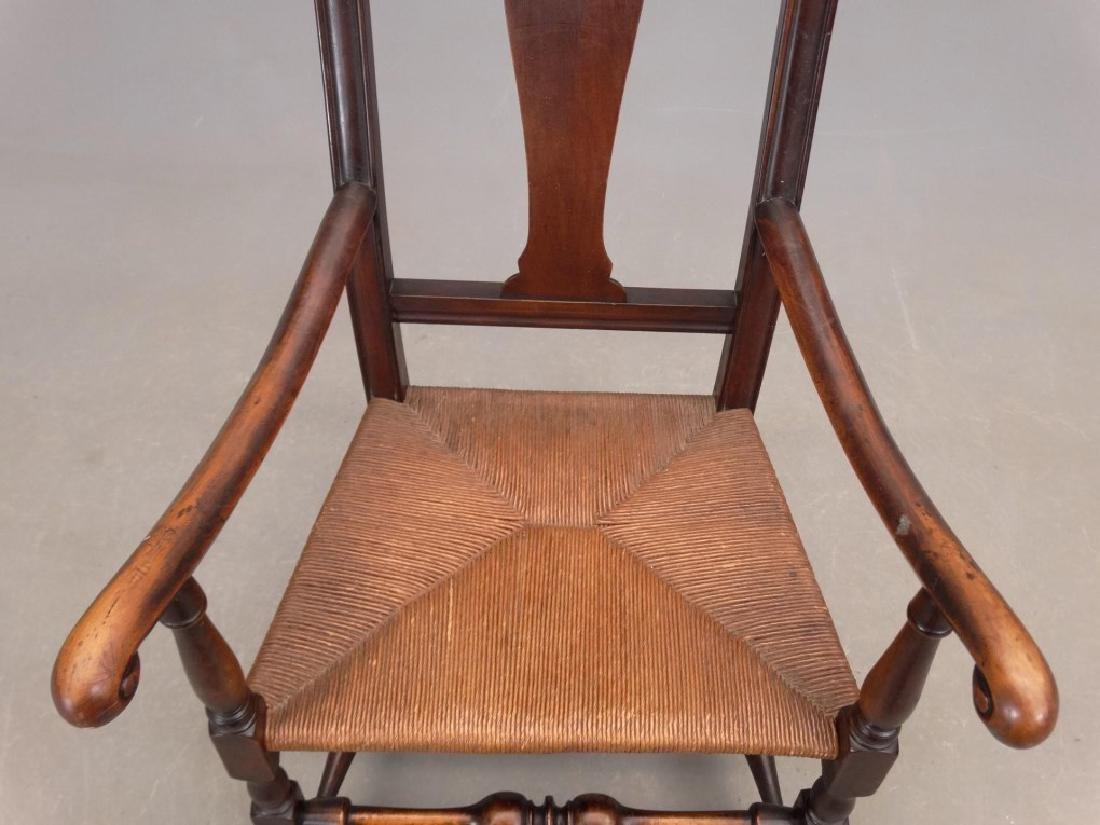 Queen Anne Style Armchair - 3
