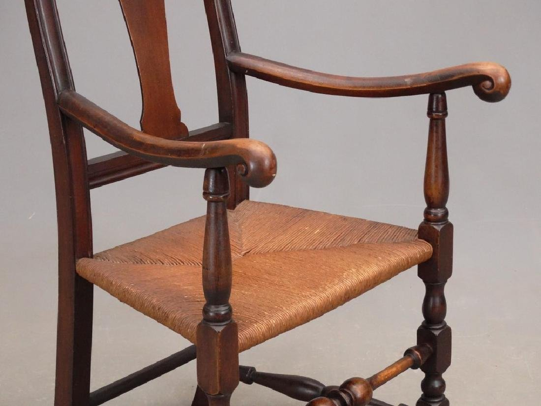 Queen Anne Style Armchair - 4