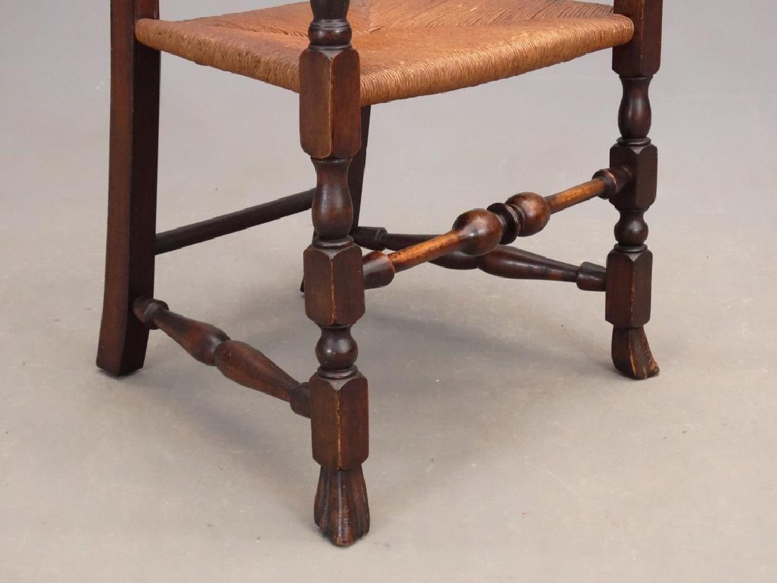 Queen Anne Style Armchair - 5