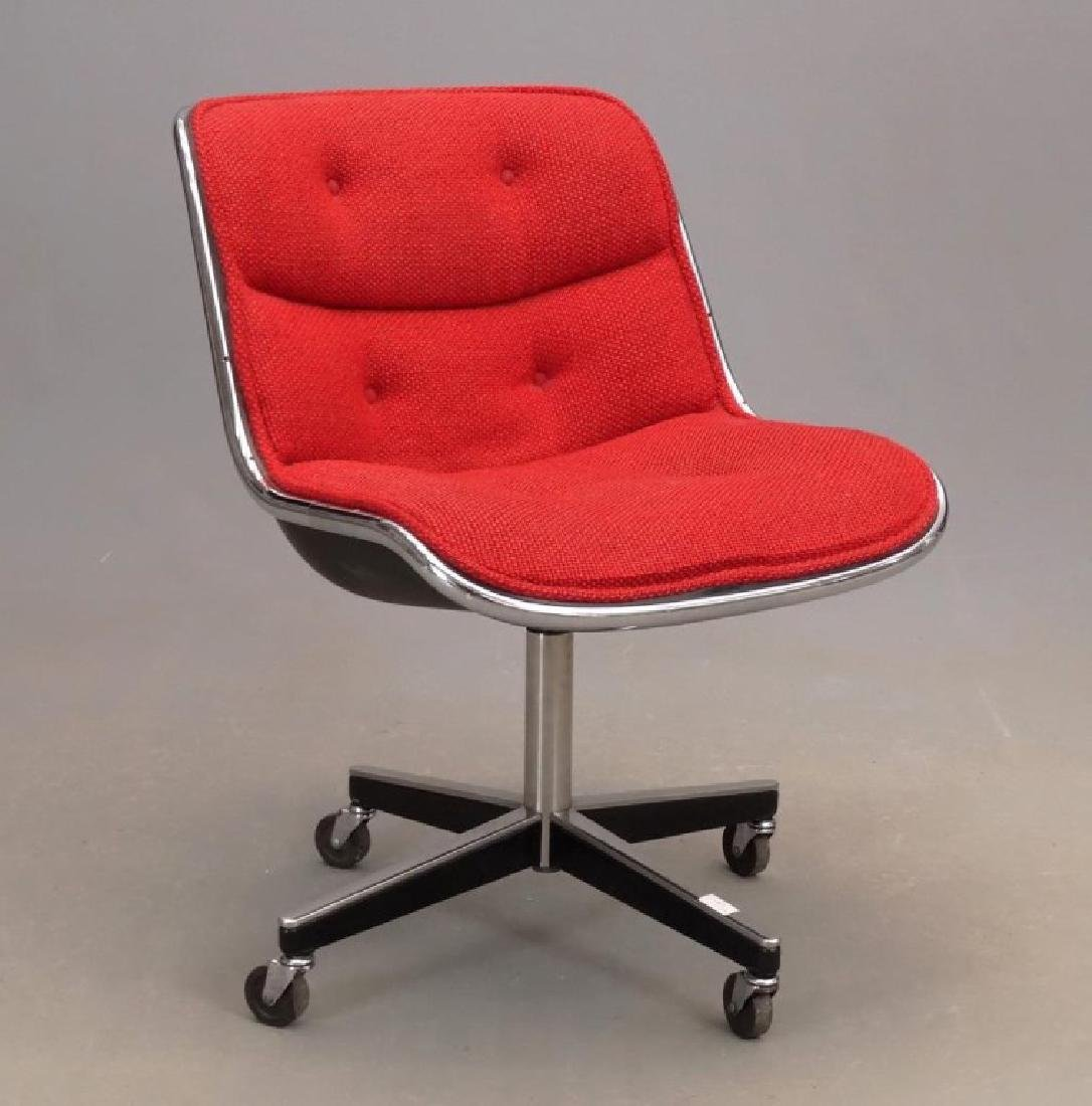 Knoll Type Mid Century Chair