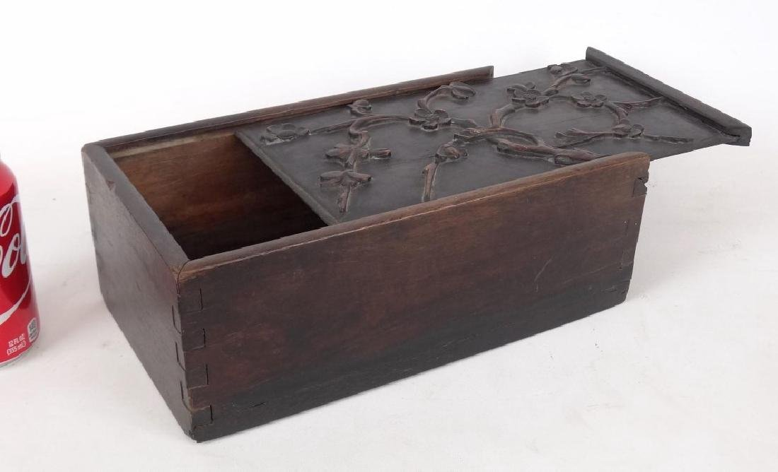 19th c. Slide Lid Candle Box