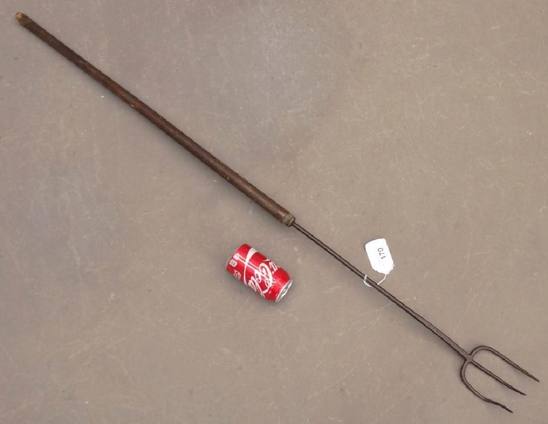 19th c. Long Handled Fork