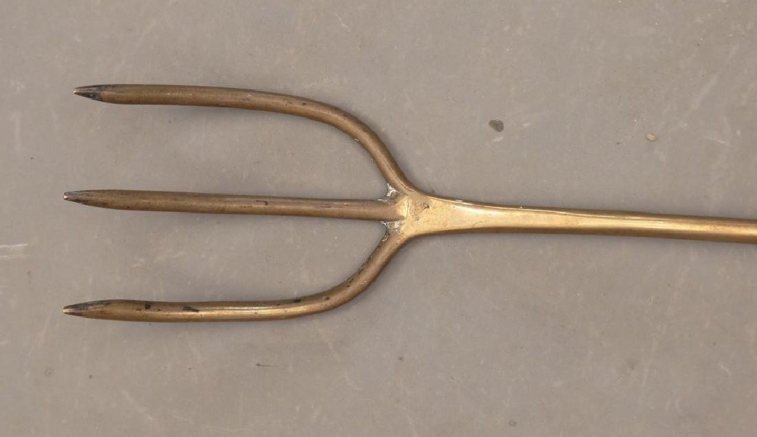 19th c. Long Handled Fork - 2