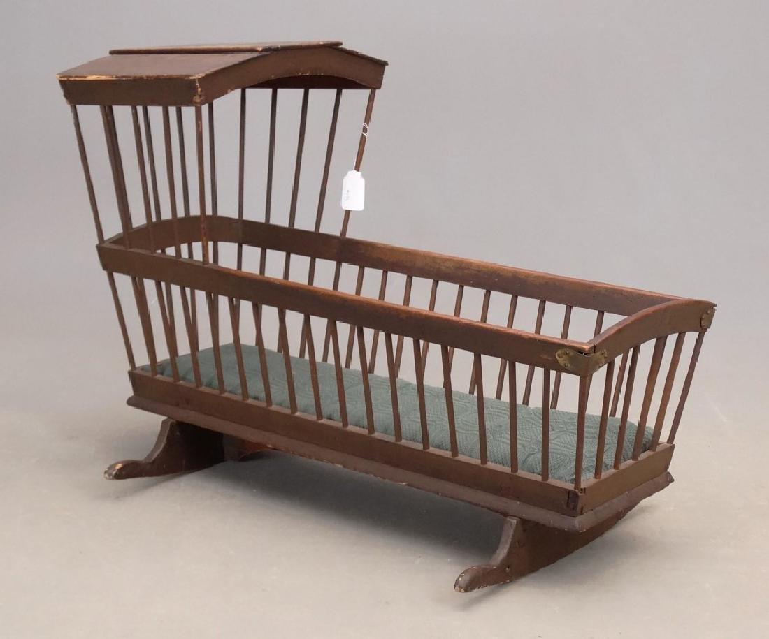 18th c. Windsor Cradle