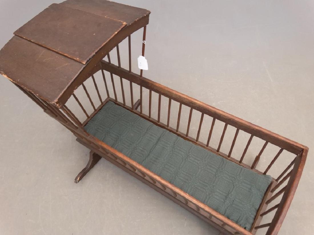 18th c. Windsor Cradle - 2