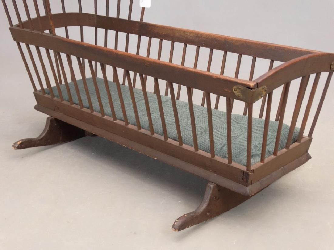 18th c. Windsor Cradle - 3