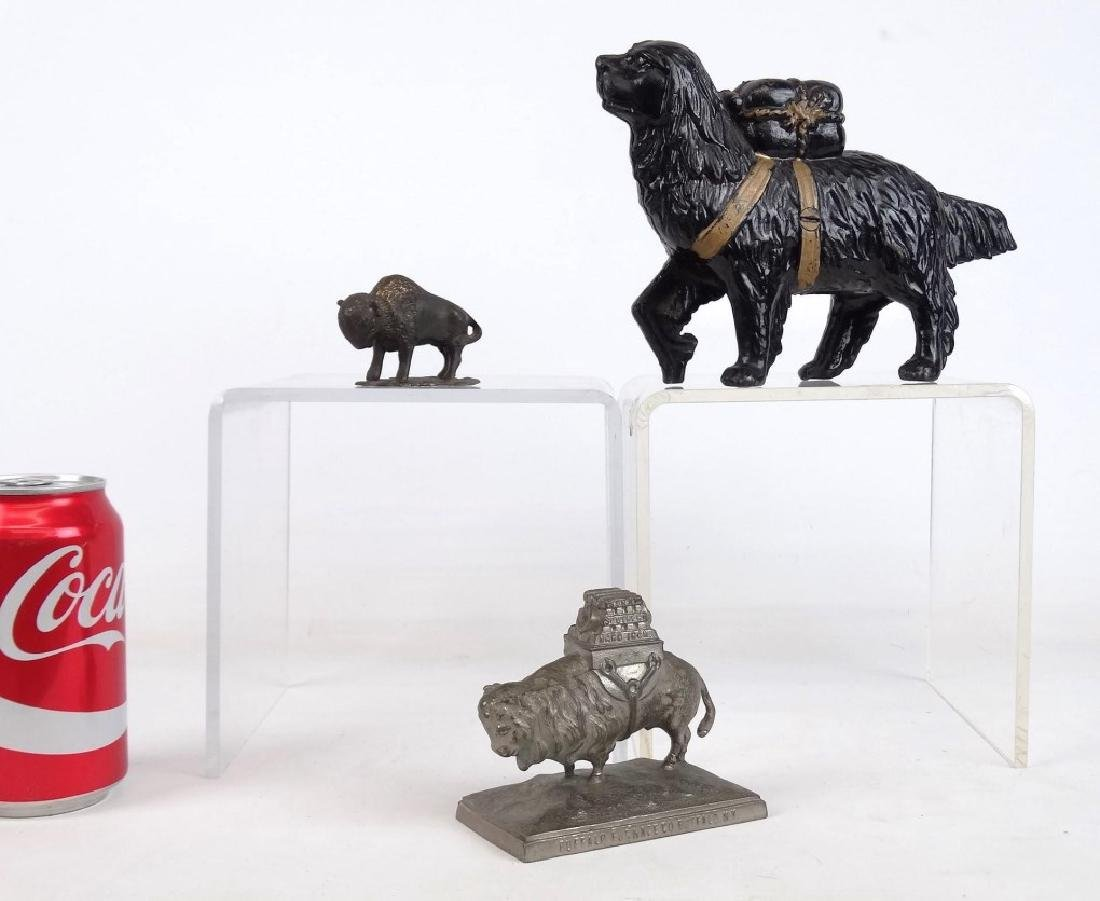 Bank & Paperweight Lot