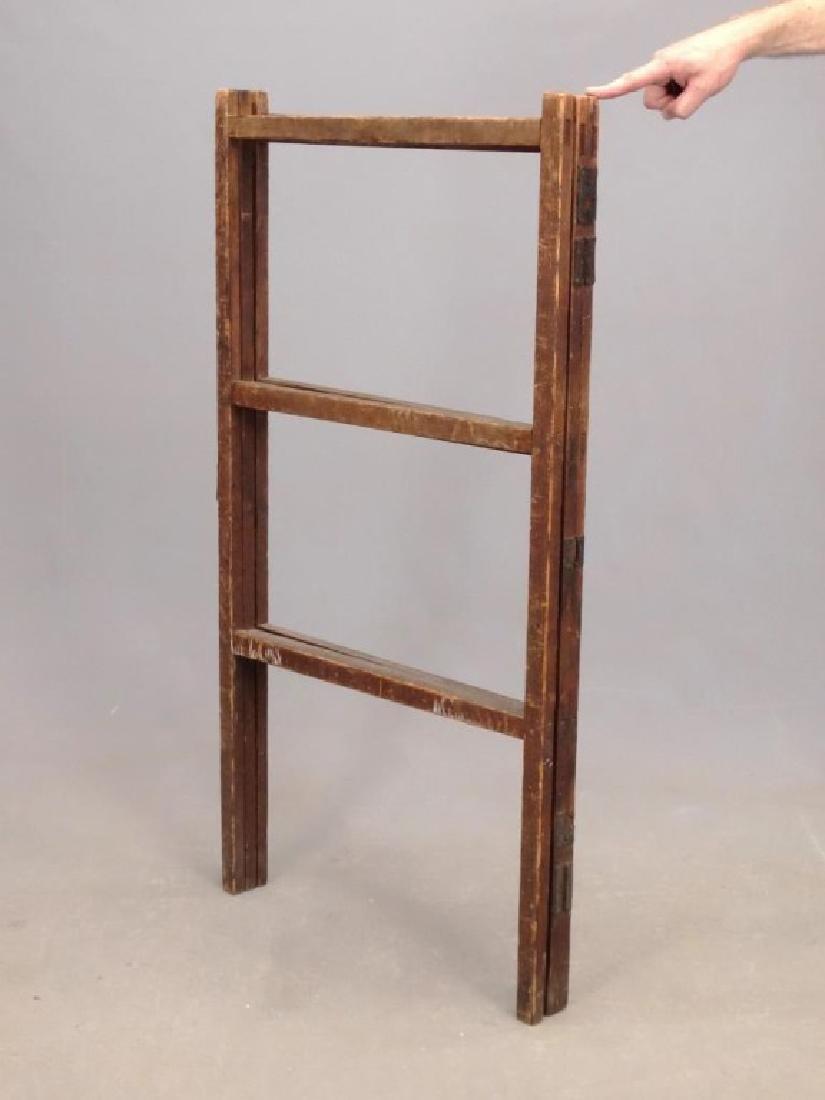 19th c. Quilt Rack - 3