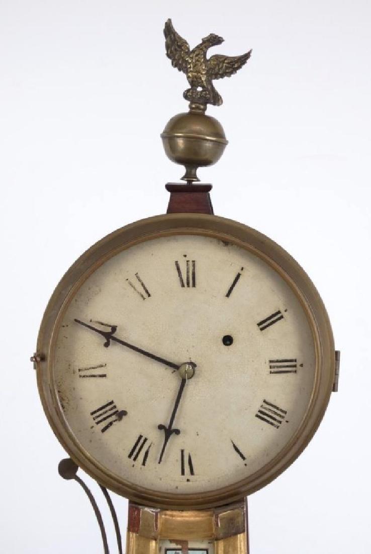 19th c. Banjo Clock - 2