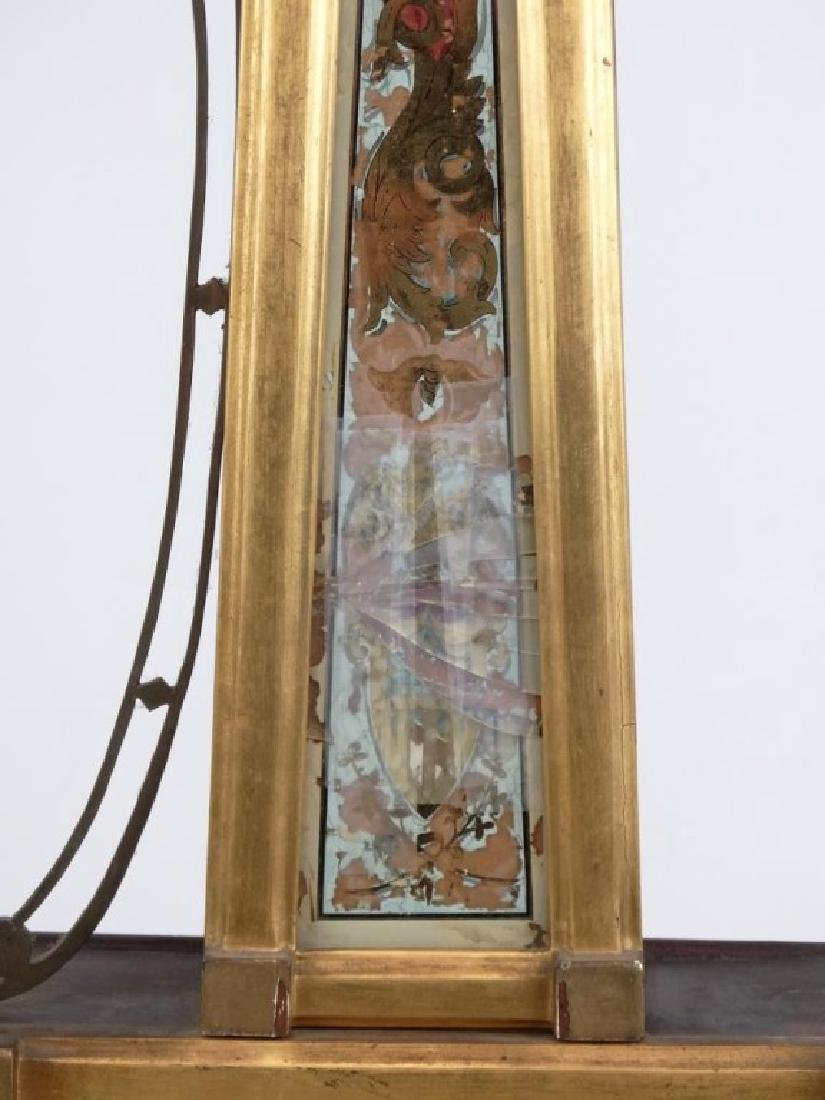 19th c. Banjo Clock - 3