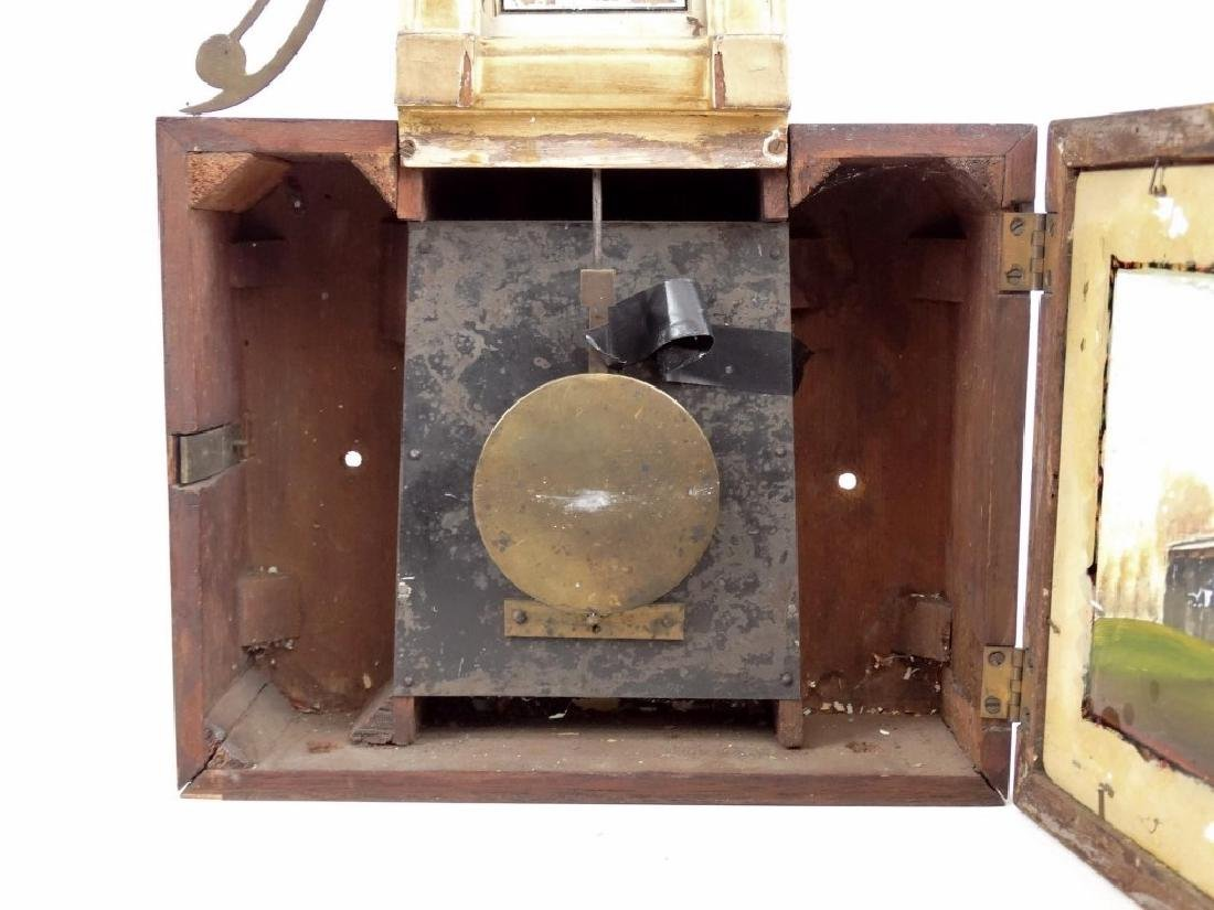 19th c. Banjo Clock - 4