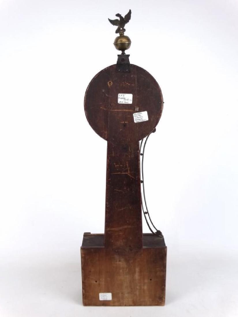 19th c. Banjo Clock - 7