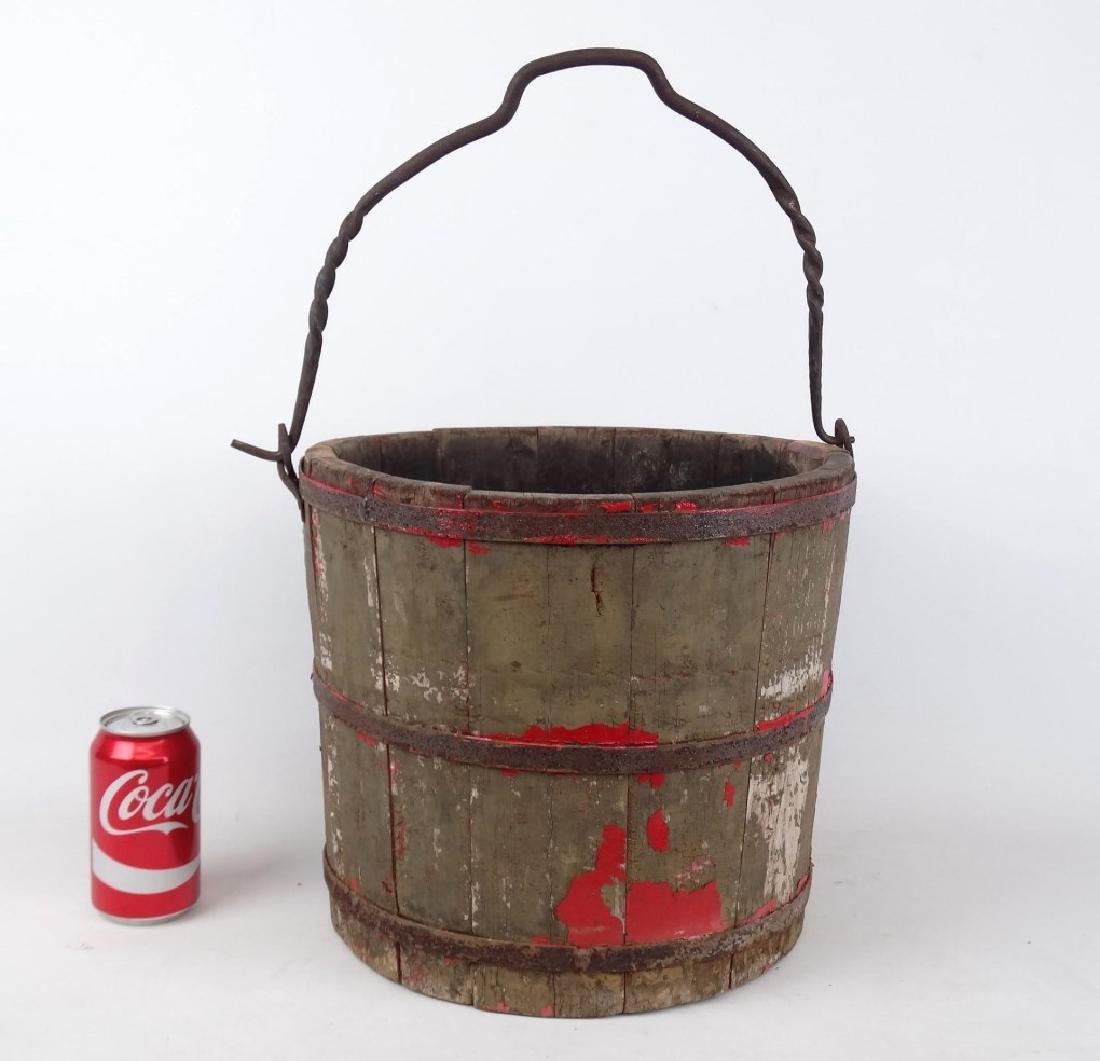 19th c. Swing Handle Bucket
