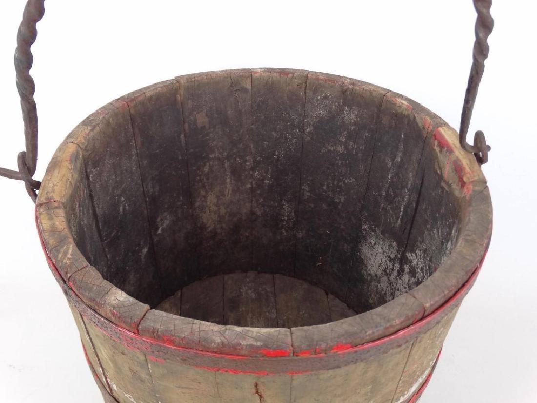 19th c. Swing Handle Bucket - 2