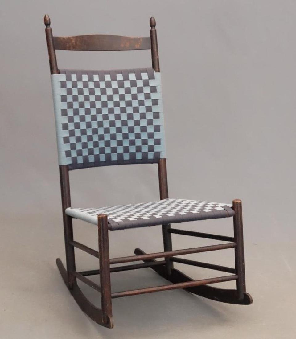 19th c. Shaker Rocking Chair