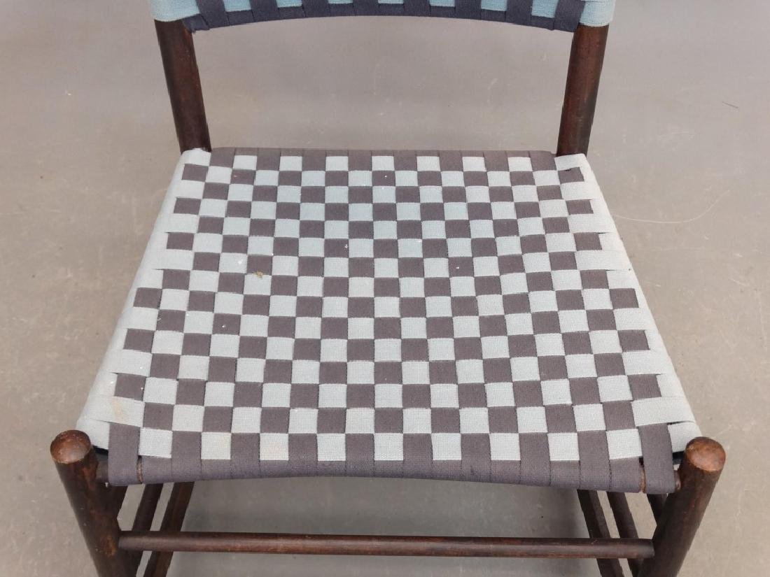 19th c. Shaker Rocking Chair - 3