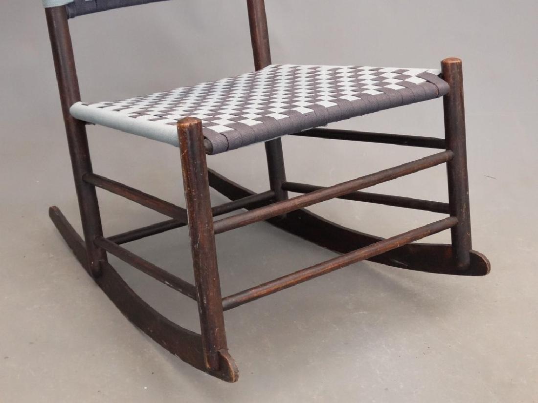 19th c. Shaker Rocking Chair - 4