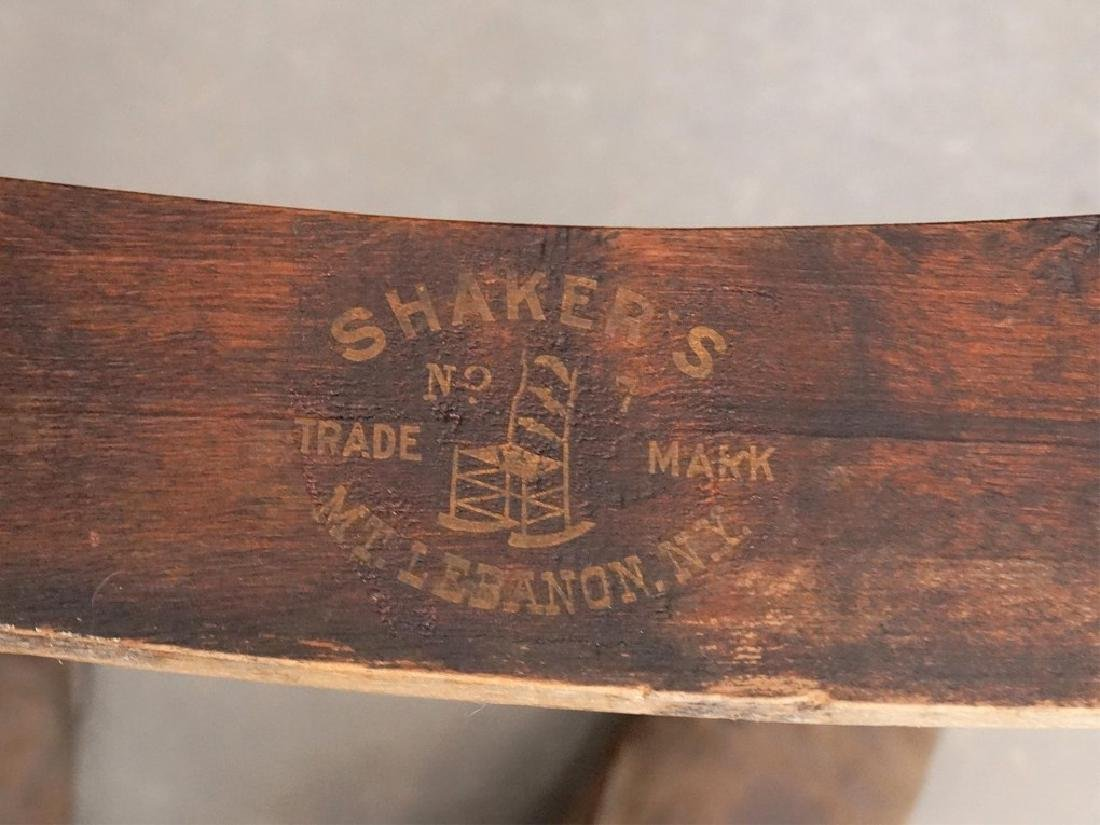 19th c. Shaker Rocking Chair - 5